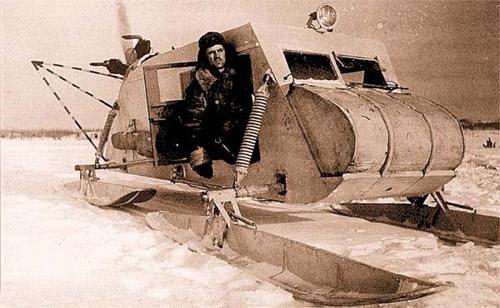 Аэросани и снегоходы. История необычного зимнего транспорта