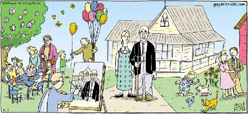 Карикатуры от Guy & Rodd. Немного доброго юмора