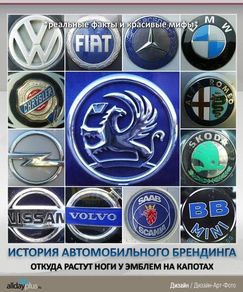 История автомобильного брендинга: откуда же у эмблем на капотах ноги растут?