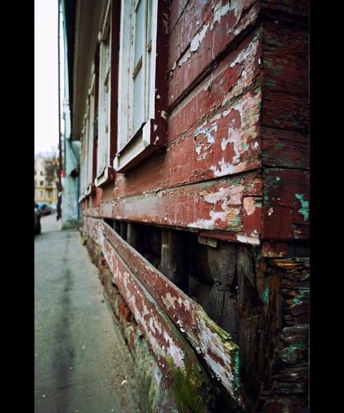 Москва деревянная.