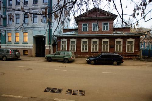 Здание в Гоголевском переулке