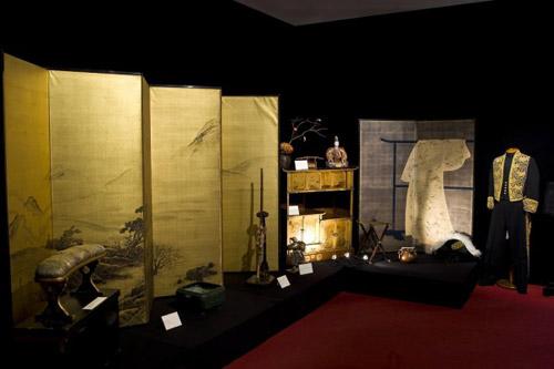 Выставка самураи art of war проходит по