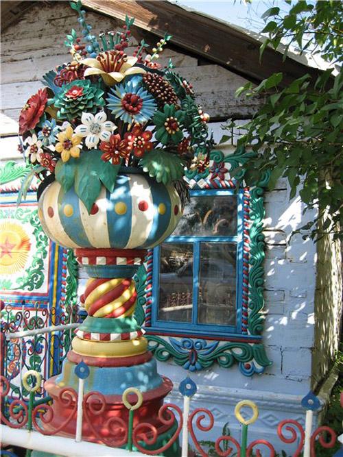 Терем-теремок. Дом кузнеца Кириллова в деревне Кунара