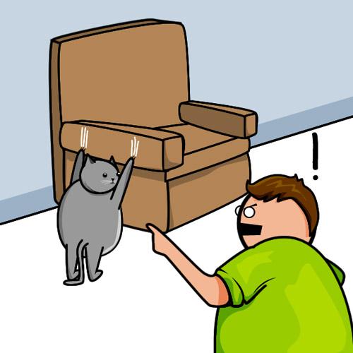Комикс Cat VS Internet. Блокбастер с хэппи-эндом :)