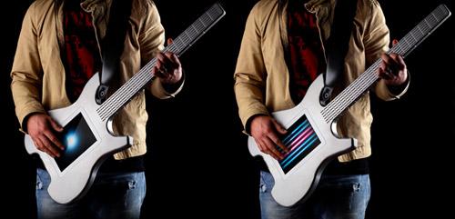 Электронная гитара Kitara с сенсорными струнами