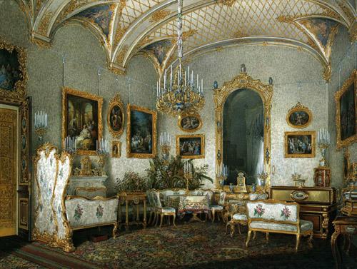 Царские интерьеры. Картины с видами залов Зимнего Дворца