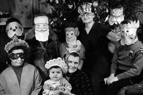 Новый Год, каким он был у нас раньше. 40 старых фото