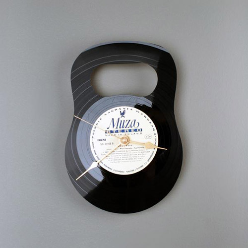 Настенные часы из виниловых пластинок.  Новости и Статьи.