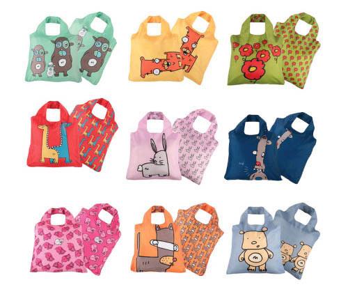 Минимализм - основное направление дизайна эко-сумок BAGGU.