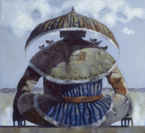 Степные истории бурятского художника Зорикто Доржиева