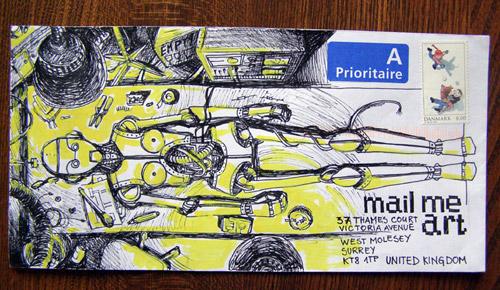 Творческий проект «Mail Me Art». Конверт как арт-объект