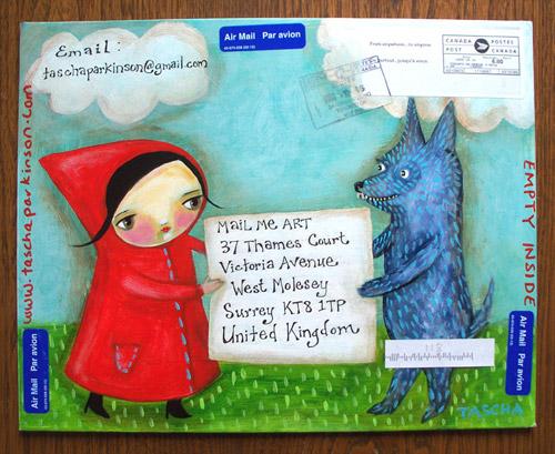 ���������� ������ �Mail Me Art�. ������� ��� ���-������