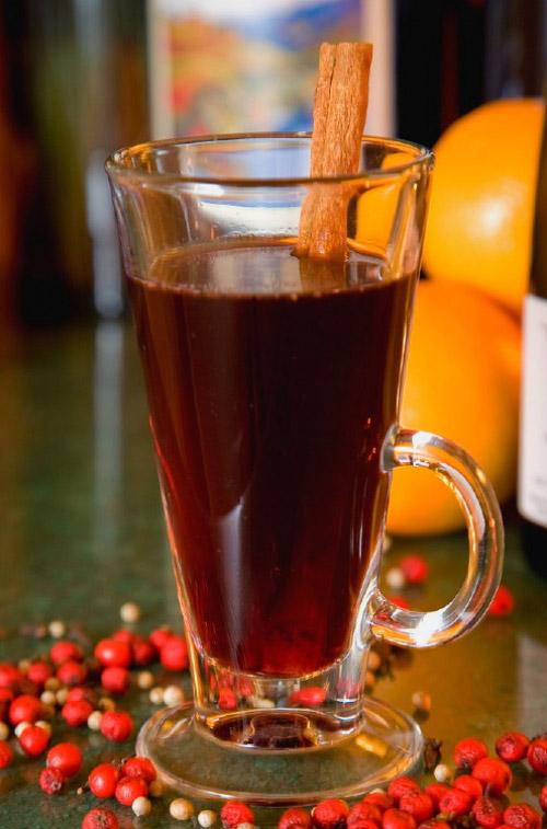 Глинтвейн / Glühwein. Рецепты «раскаленного вина» к осени