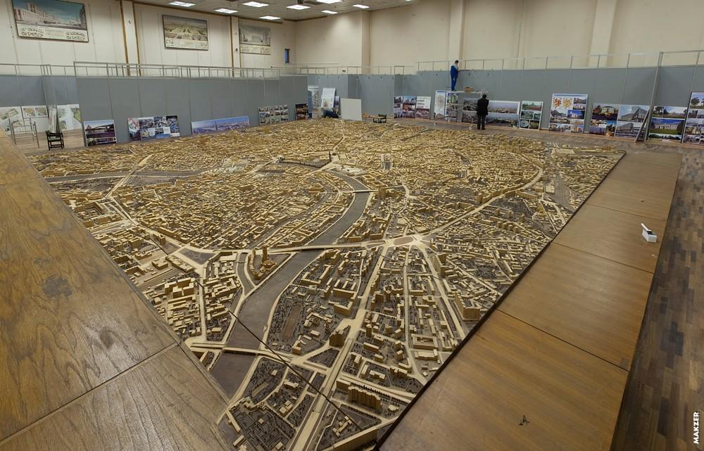 Модель город своими руками