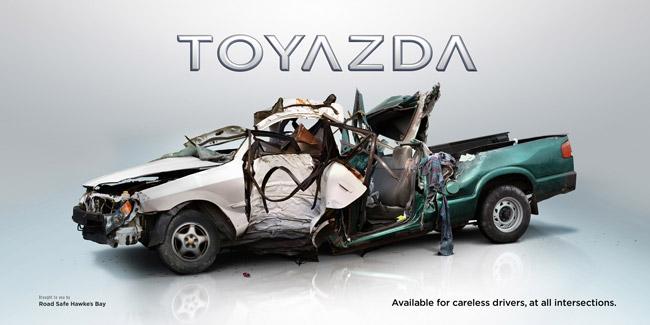 Nissbaru, Volksubishi и Toyazda! Новые автомобильные марки для неосторожных водителей