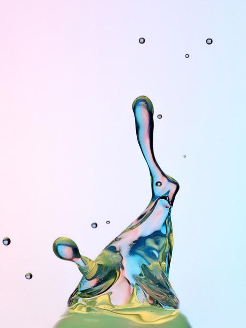 Водяные взрывы замедленного действия. Стоп-кадры Хайнца Майера