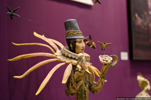 Искусство куклы. Фоторепортаж со второй московской международной выставки