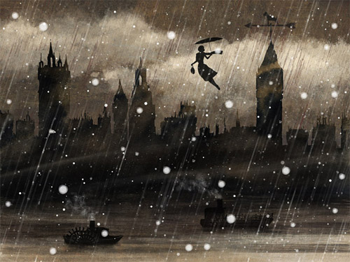 Арт-погода от Yandex в картинах современных иллюстраторов