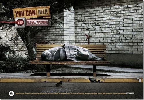 Берущая за душу реклама WWF об экологии и спасении мира