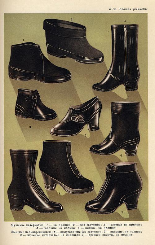 Ботики резиновые - обувь, надеваемая поверх туфель или ботинок, имеющая...