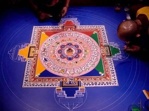 Красивые мандалы Тибета