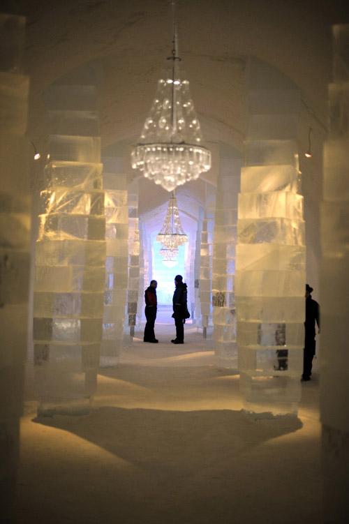 Ледяные отели мира. Архитектурная красота для любителей похолоднее