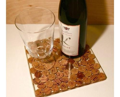 Что можно сделать из винных пробок. Идеи оформления интерьера