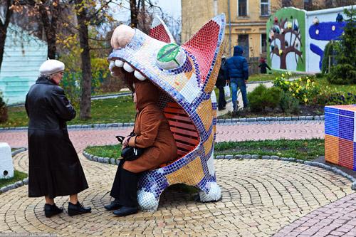 Городская ландшафтная сказка киева