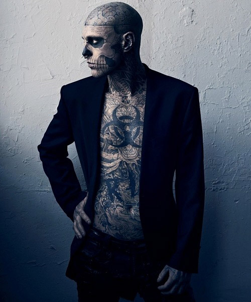 Zombie Boy Рик Дженест. Модно быть фриком...