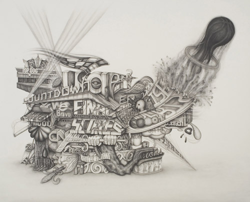 Карандашный сюрреализм в русунках Frank Magnotta