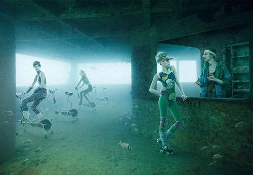 Подводная фотогалерея Андреаса Франке на затонувшем корабле