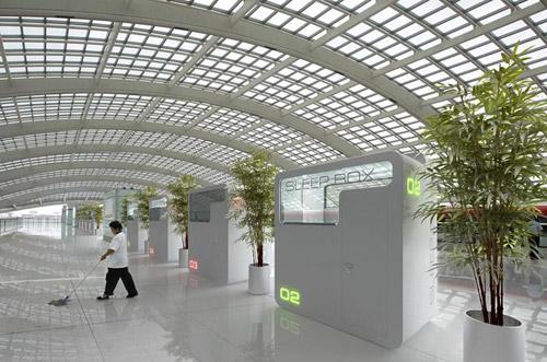 SLEEPBOX. Капсульный отель в аэропорту Шереметьево