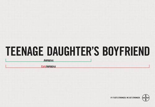 Креативная лаконичность в печатной рекламе. Чем проще, тем лучше!