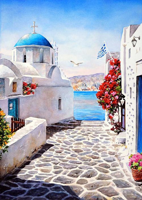 живопись греции: