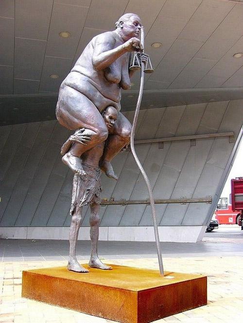 Нескучные статуи мира. 23 удивительных изваяния
