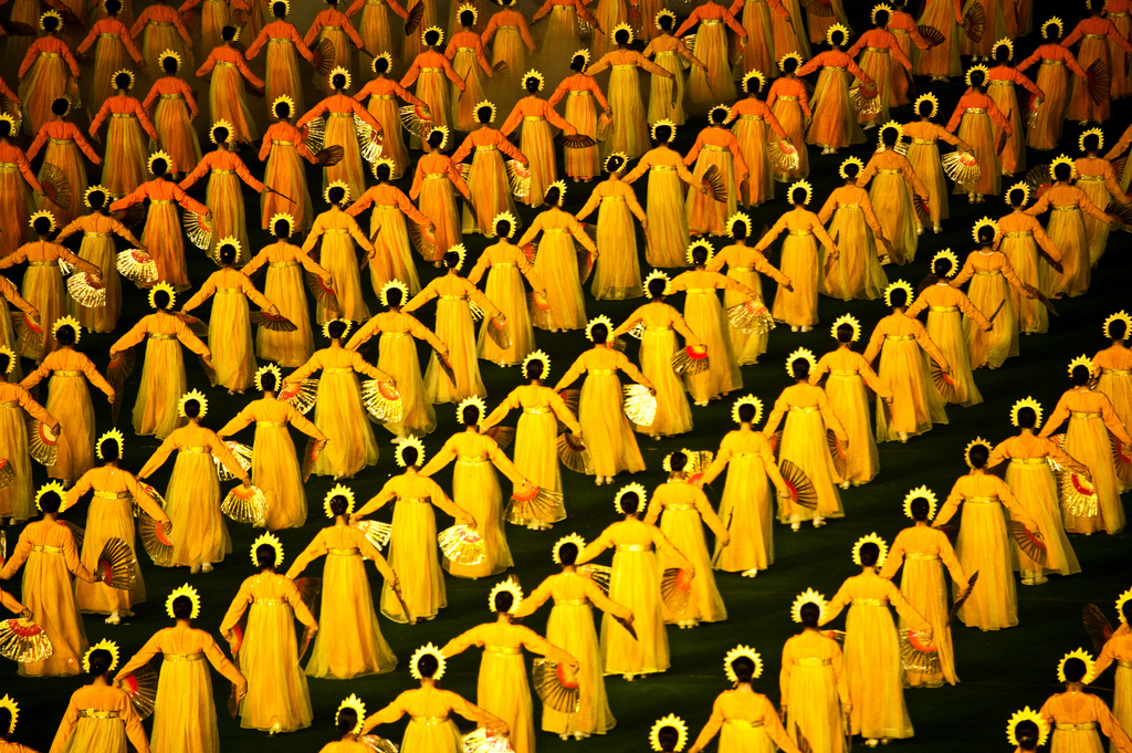 Праздник «Ариран». Ежегодное театрализованное шоу в Северной Корее