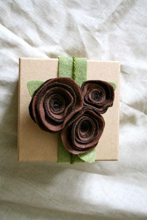 Идеи подарков из фетра своими руками