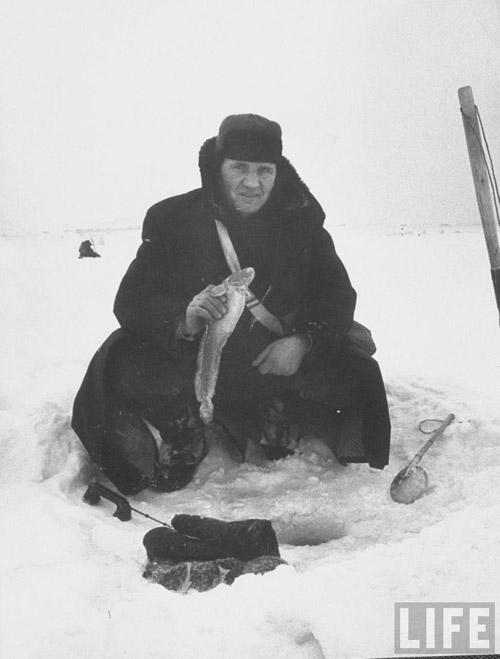 Старая добрая зима. Московские фото 1959 года для журнала Life
