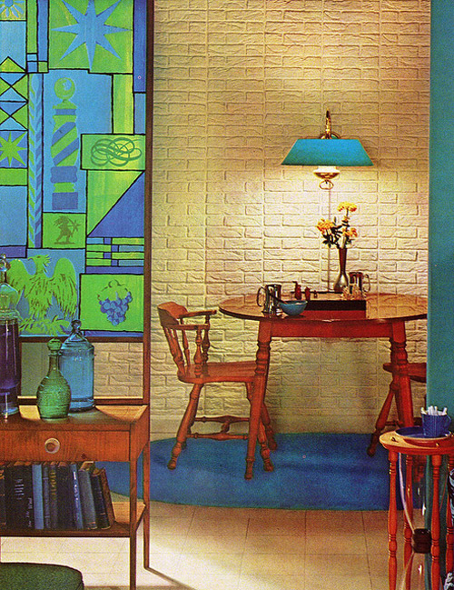 Желанные интерьеры 1970 года. Practical Encyclopedia of Good Decorating and Home Improvement
