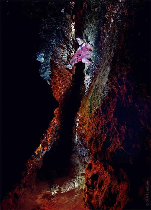 Экспедиция в пещеру Млынки. Фоторепортаж Олега Григорьева