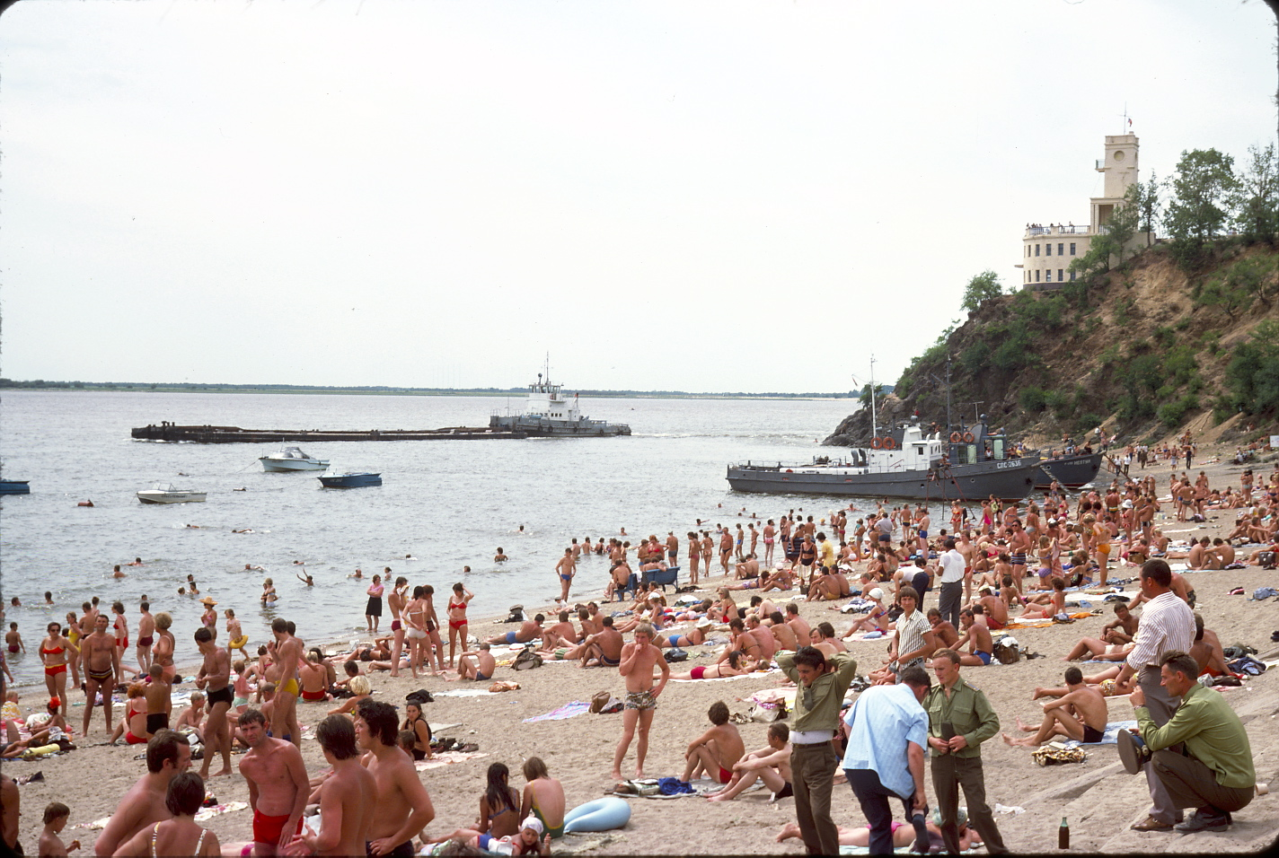 Старинные фото с пляжей