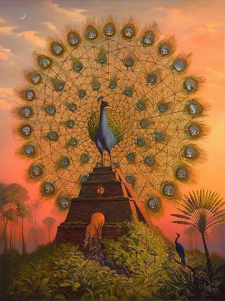 Конечно, мы можем оценить красоту портала, выразительность...  Сюрреализм предложил зрителю принципиально...