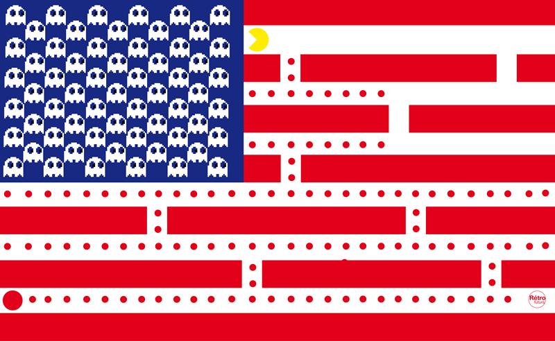 американский флаг фото