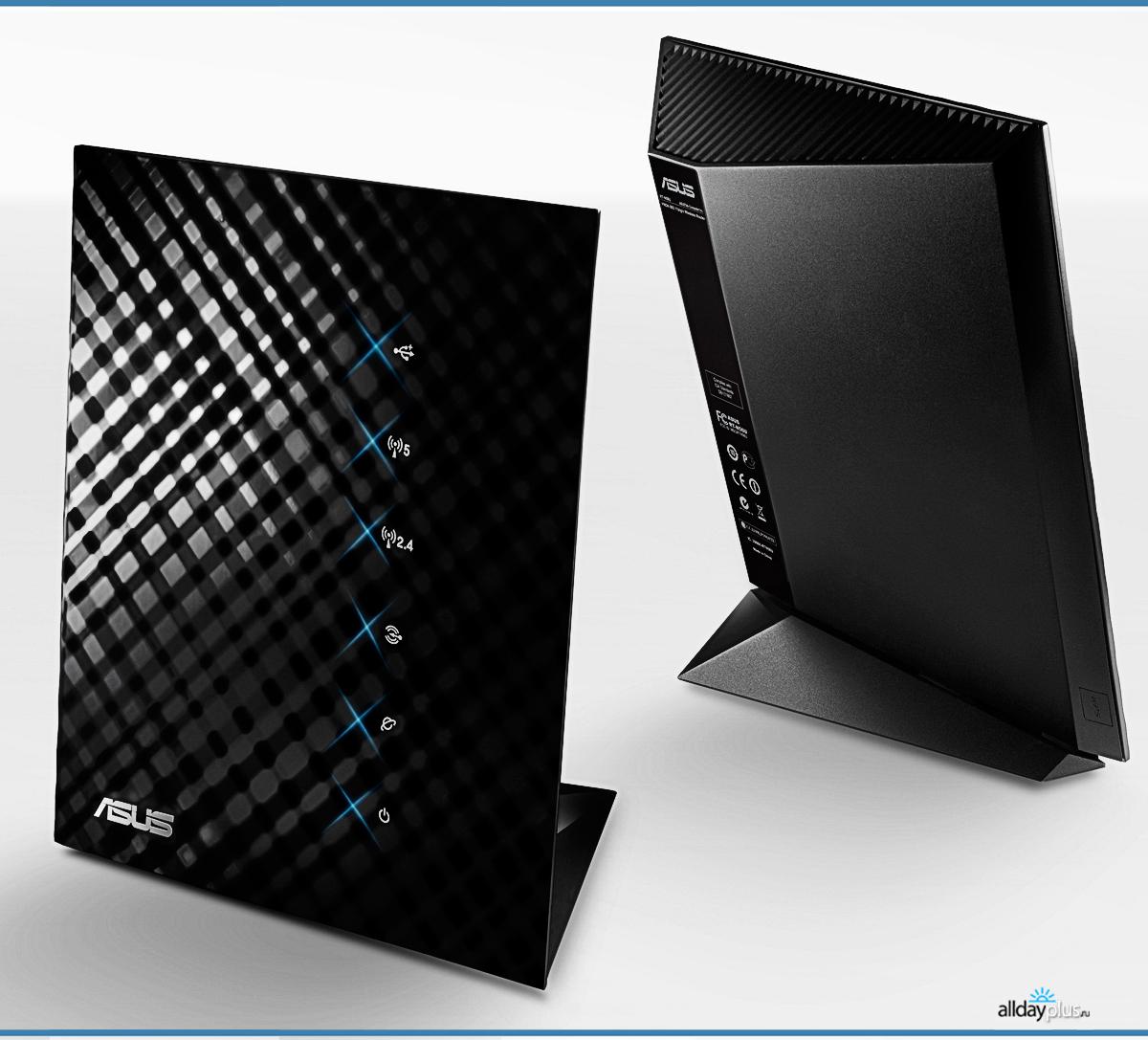 Asus RT-N56U Black Diamond - дизайнерский WiFi роутер
